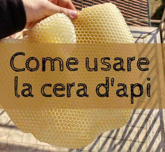 Formati di cera d'api e suoi utilizzi