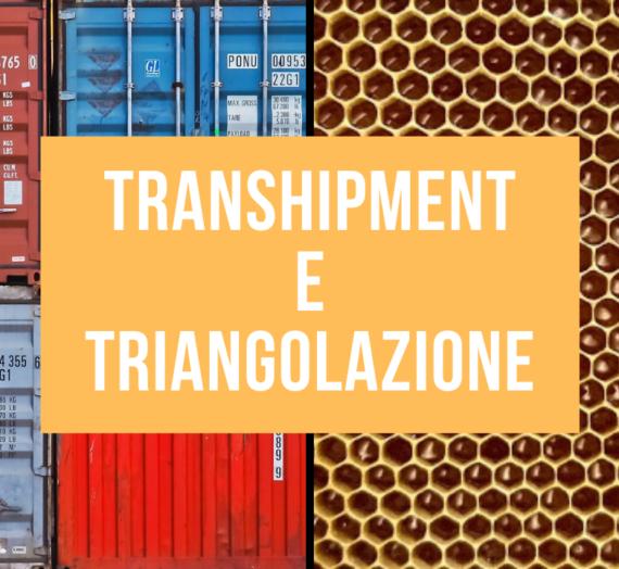 Transhipment e triangolazione nel mercato del miele